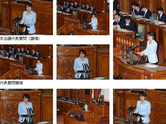 第183通常国会/参議院本会議(2013年3月6日)